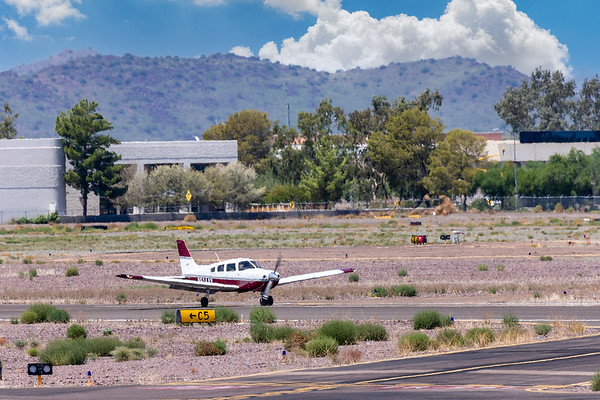 Deer Valley Airport Planes and Copter 21 Aug 2021