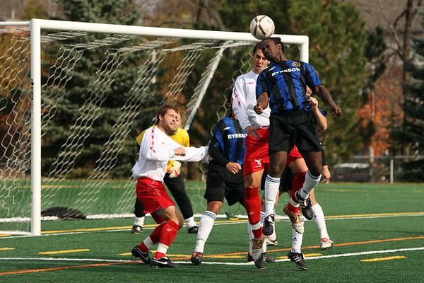 Carleton Ravens mens soccer archive 2008-09 (regular season)