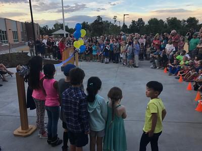 Creekside Elementary Ribbon Cutting 2017-09-14