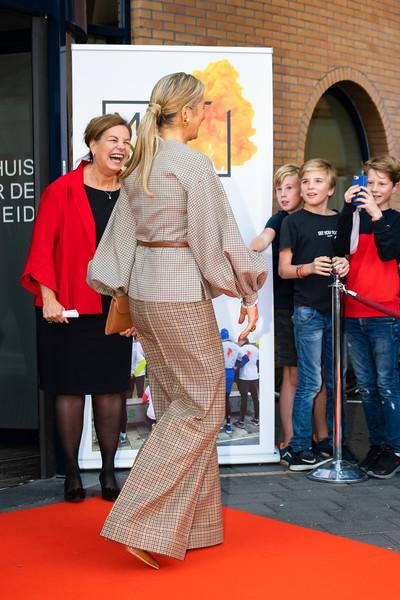 Koningin Máxima bij MIND in Amersfoort