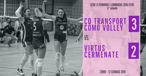 LOM-Df: 12^ Cd Transport Como Volley - Virtus Cermenate
