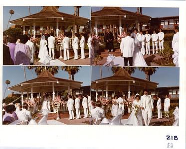 8-7-1982 David & Gwen Yokoyama Wedding @ Disneyland