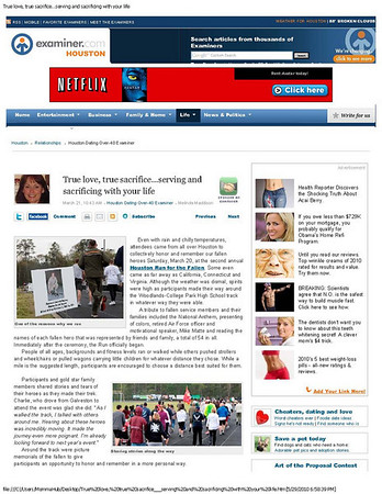 Houston Examiner March 2010