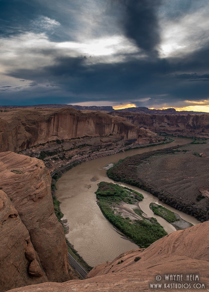 Muddy Water     Photography by Wayne Heim
