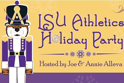 LSU Athletics Holiday Party 12/15/15