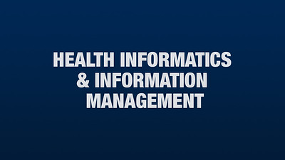 Health Informatics and Information Management