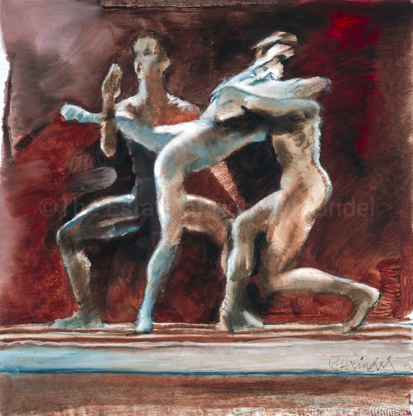 Trio in White - Color Study (2004)