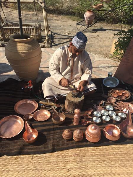 Local artistry in Muscat, Oman - Bridget St. Clair