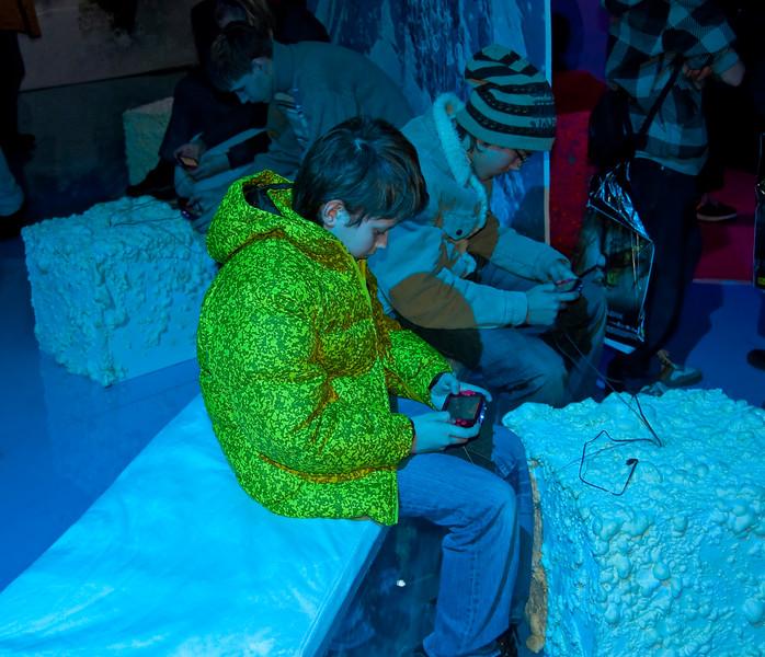Boy with PSP Go at Igromir 2009