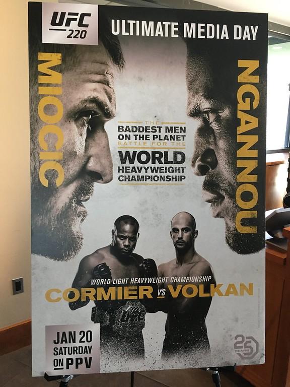 . UFC 220 media day (Mark Podolski, The News-Herald)