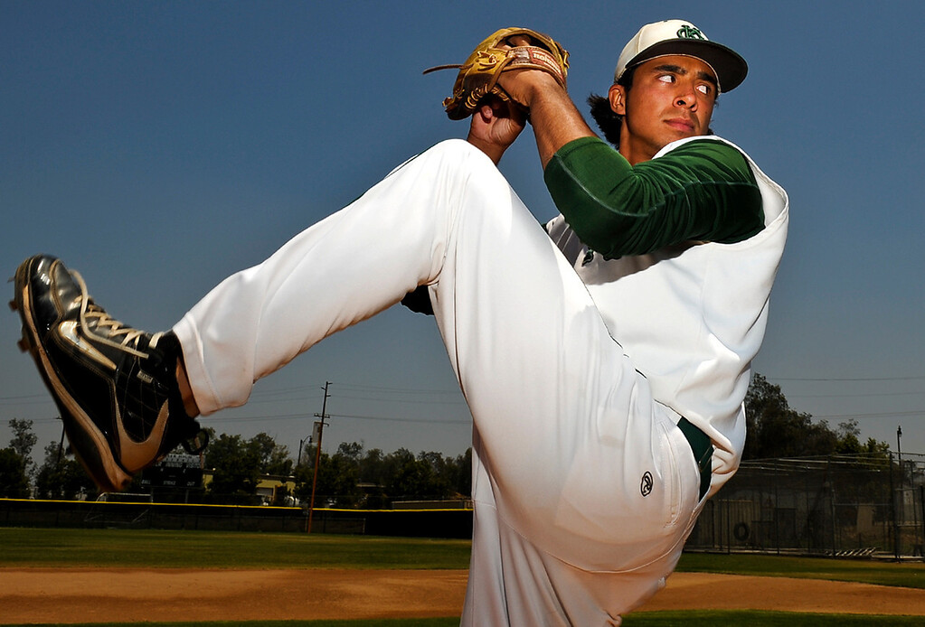 . Chris Mathewson has been named Player of the Year to The Sun\'s All Area baseball team. Mathewson pitches for Kaiser High School. Rachel Luna staff photographer The Sun.