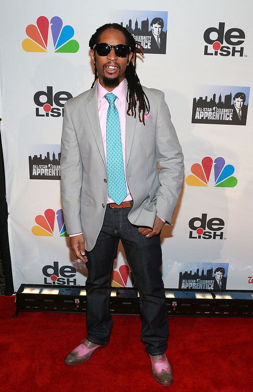 """. Lil Jon attends \""""All Star Celebrity Apprentice\"""" Finale at Cipriani 42nd Street on May 19, 2013 in New York City.  (Photo by Robin Marchant/Getty Images)"""