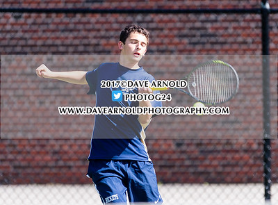 5/16/2017 - Boys Varsity Tennis - St. John's vs Needham