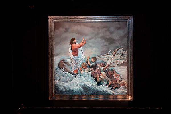 Christ Stills the Tempest
