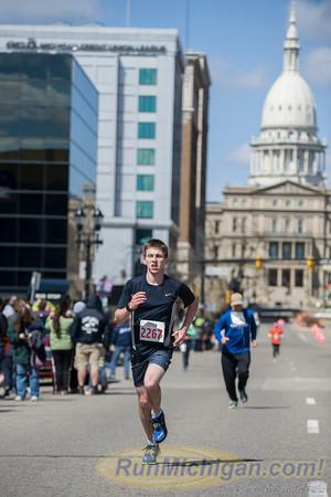 Marathon Finish, Gallery 2 -2014 Lansing Marathon