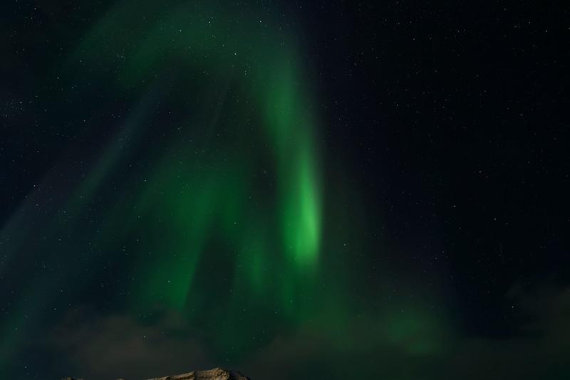 Aurora Borealis, Nybyen, Longyearbyen