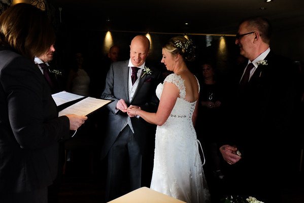 Michelle and Anthony - White Hart Oldham