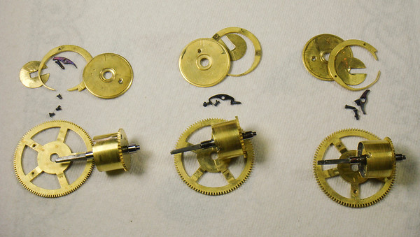 Assembling a 3 Weight Mechanism - Part 1:  Between the plates