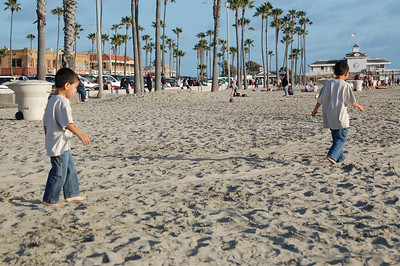 Disneyland and The Beach 2012