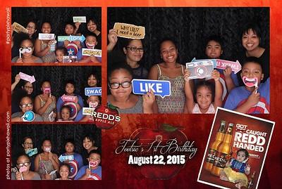 "Khalie's ""Tootsie"" 1st Birthday (LED Open Air Photo Booth)"