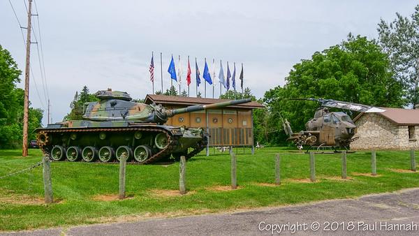 Park – Bangor, WI – M60A3 + AH-1 Cobra