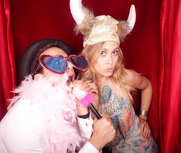 Liam & Monique Photobooth Photos