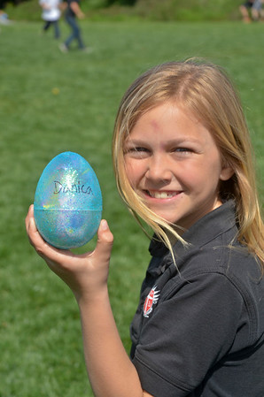 3rd Grade Easter Egg Hunt, March 24, 2016