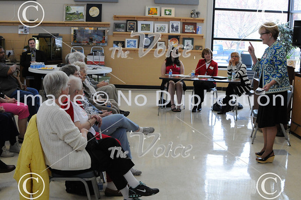 Illinois State Representative Kay Hatcher's Spelling Bee at Oswego Senior Center in Oswego, IL 4-26-13
