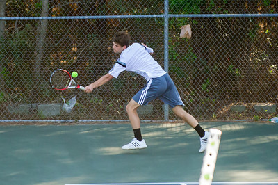2014-04-01 BHS Tennis VS Porter Ridge