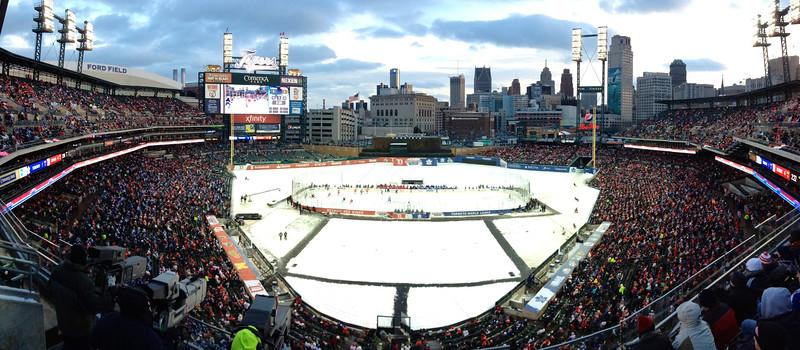 Winter Classic, Detroit.