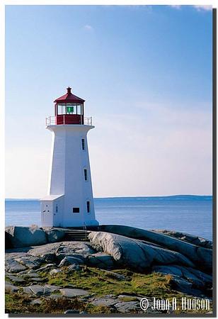Lighthouse on sunny days : 44.491765N 63.918605W
