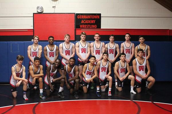 Wrestling Team Photos