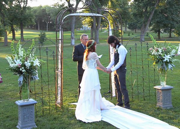 Julia and Tyler's wedding
