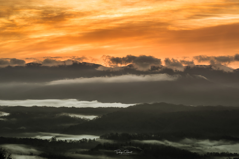 """Great Smoky Mountains Sunrise"""