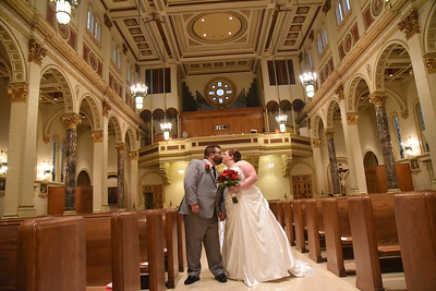 Jeana and Andy - Holy Cross Catholic Church and the Mermaid Event Center