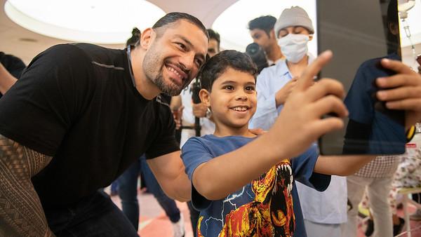 Roman Reigns - Digitals / Childrens Hospital in Saudi Arabia