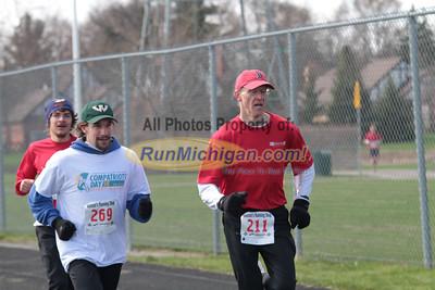 Finish - 2013 Compatriots Day 5K