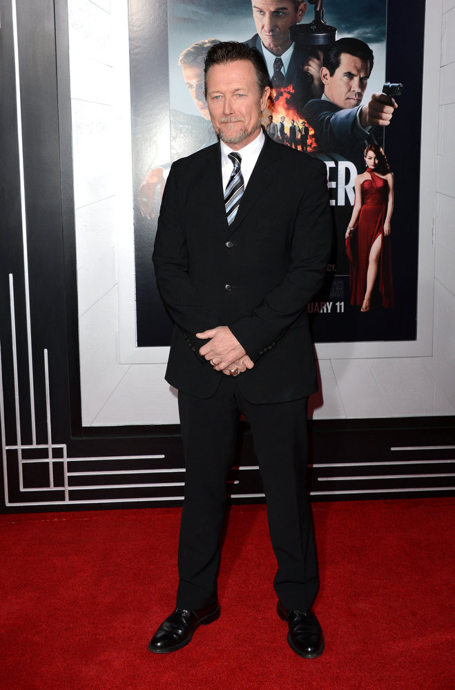 """. Actor Robert Patrick arrives at Warner Bros. Pictures\' \""""Gangster Squad\"""" premiere at Grauman\'s Chinese Theatre on January 7, 2013 in Hollywood, California.  (Photo by Jason Merritt/Getty Images)"""