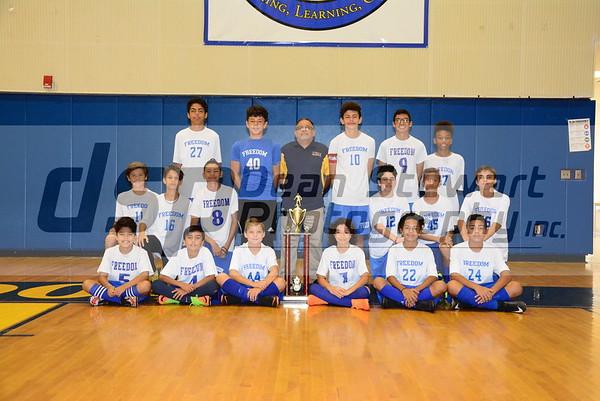 Boys Soccer Team photo 10*19*18
