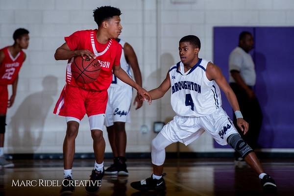 Broughton boys JV basketball vs Sanderson. February 11, 2019. 750_5707
