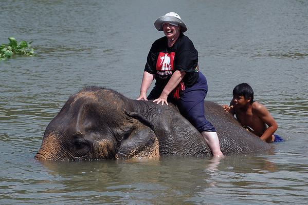 Ayuthaya Elephant Kraal - Thailand 2010