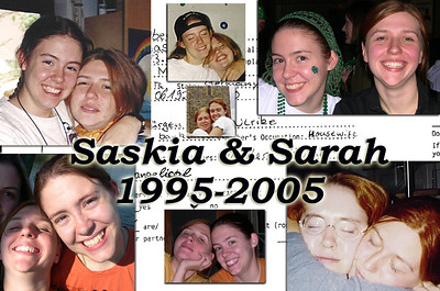 Saskia & Sarah: 10 Years March 13 2005
