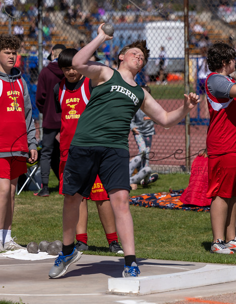 Middle School Track in Rapid City - May 7 2021