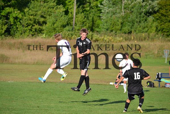 Lakeland Soccer at Northland Pines