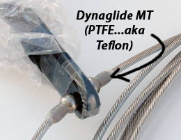 Teflon tape around Melges 24 spreader end fittings