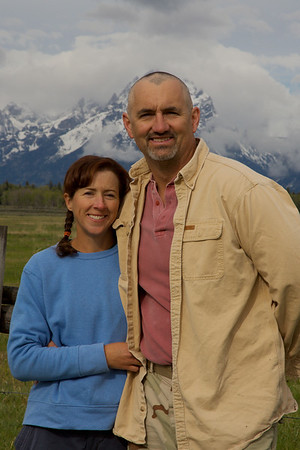 Steve and Michele - Yellowstone 2007