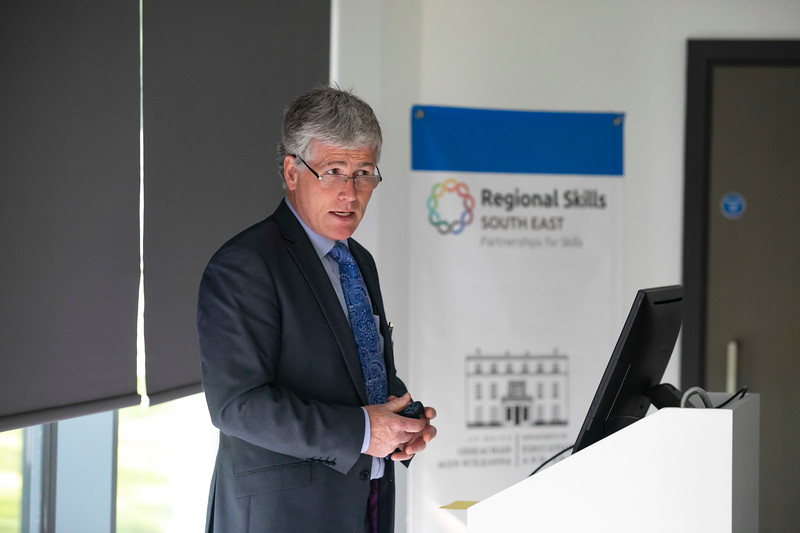 20/06/2019. Engineered for success. Industry leaders launch cluster to promote engineering in South East.  Engineering the South East was launched in Wexford this morning with a mission to see companies working together to address skills needs, promote careers in engineering and advance the engineering capabilities of the region. Pictured is Edmond Connolly, Manager, Regional Skills South East Forum. Picture: Patrick Browne
