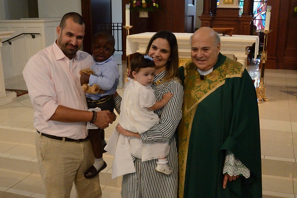 2018 Oct 21 Corpus Christi Baptism by Father Ralph