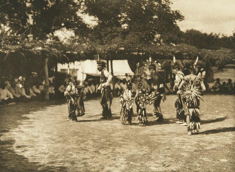 Dancers - Wichita (The North American Indian, v. XIX. Norwood, MA, The Plimpton Press,  1930)