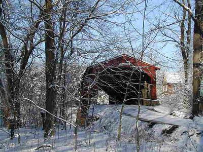 Ramps Bridge in Winter